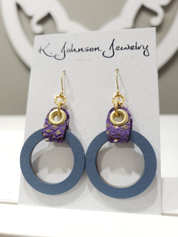 Vanna Hoops - 036 - K. Johnson Jewelry LLC