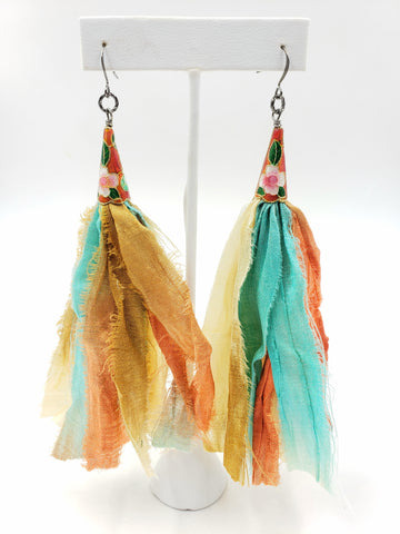 Chavie Earrings - Spice