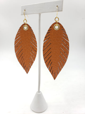 Signature Feathers - Burnt Orange