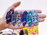 Filigree Earrings - Hawk Navy - Mini - K. Johnson Jewelry LLC