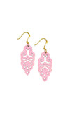 Filigree Earrings - Metallic Bubblegum - Mini