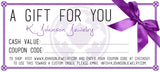 KJJ Gift Certificate $15 - K. Johnson Jewelry LLC