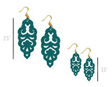 Filigree Earrings - Lush Meadows - Large