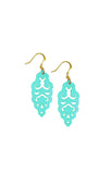 Filigree Earrings - Mardi Gras - Mini - K. Johnson Jewelry LLC