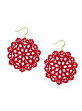 Mandala Earrings - Mini - Siren - K. Johnson Jewelry LLC