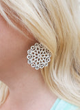Mandala Earrings - Mini - Party Hat - K. Johnson Jewelry LLC