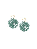 Mandala Earrings - Mini - Lush Meadows - K. Johnson Jewelry LLC