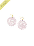 Mandala Earrings - Mini - Rose Blush - K. Johnson Jewelry LLC