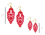 Filigree Earrings - Siren - Large - K. Johnson Jewelry LLC