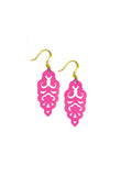 Filigree Earrings - Tourmaline - Mini