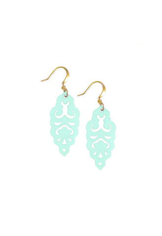 Filigree Earrings - Wandermint - Mini - K. Johnson Jewelry LLC