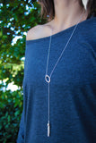 Lariat Tassel Necklace - K. Johnson Jewelry LLC