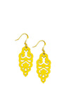 Filigree Earrings - Sunny Side Yellow - Mini