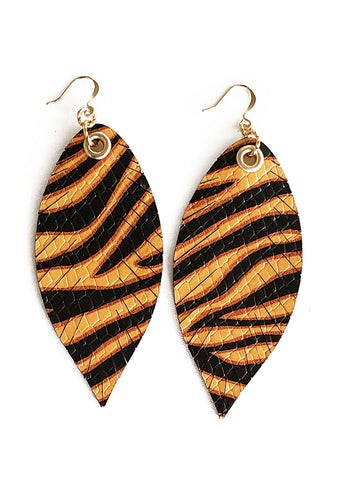 Tiger Queen Feathers - K. Johnson Jewelry LLC
