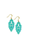 Filigree Earrings - Turquoise - Mini - K. Johnson Jewelry LLC