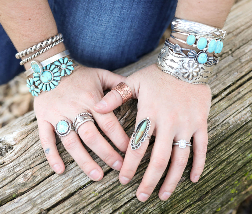 Sterling Silver & Authentic Turquoise