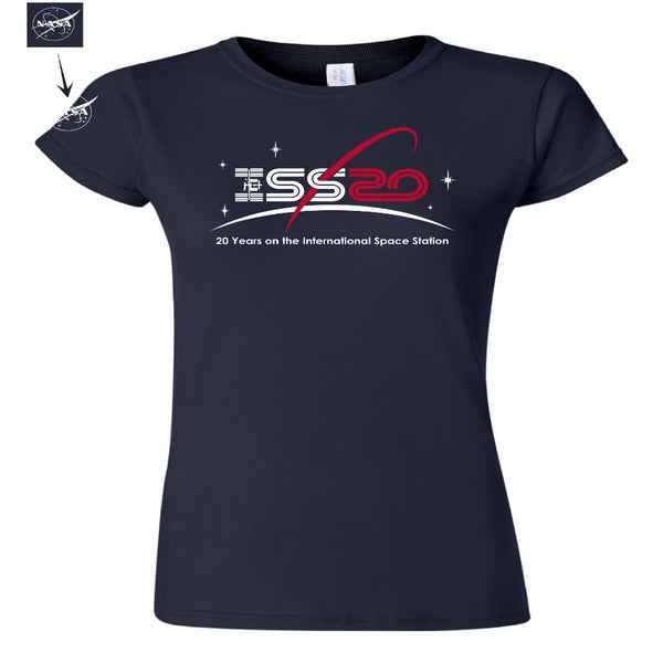 Ladies ISS 20th T-Shirt