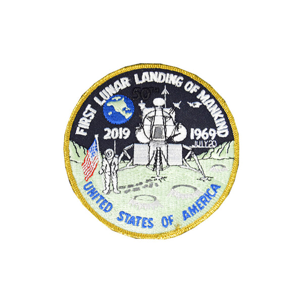 50th Anniversary First Lunar Landing Patch