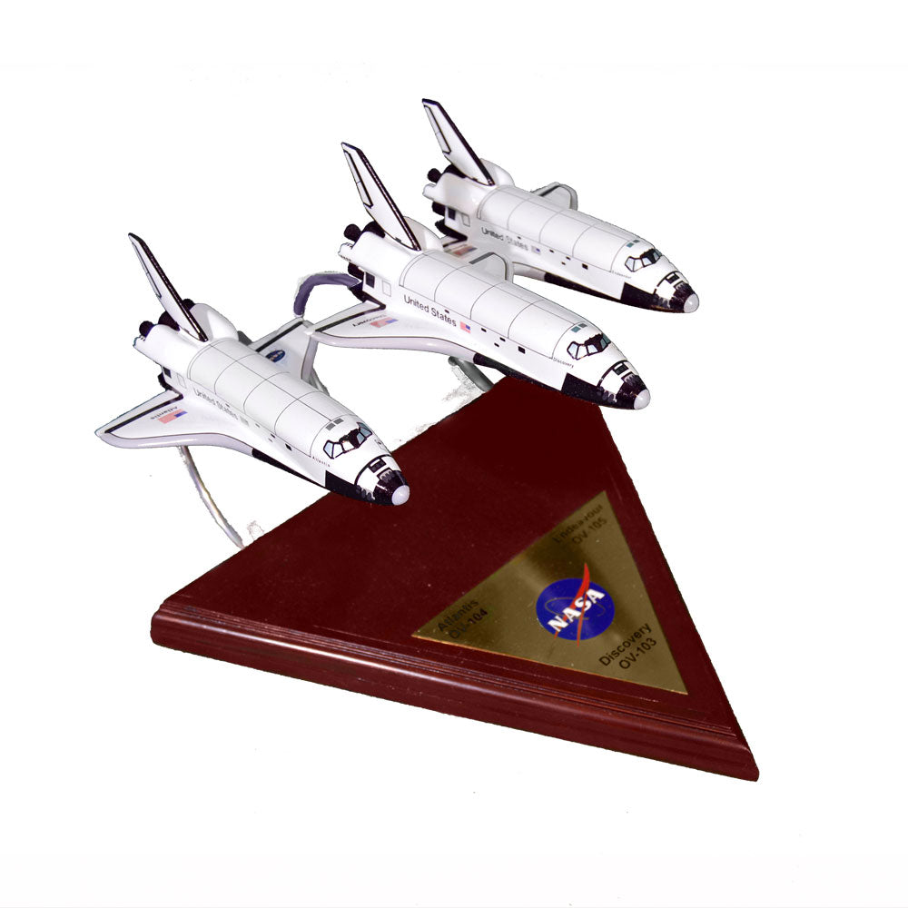 Three Shuttle Collection Model