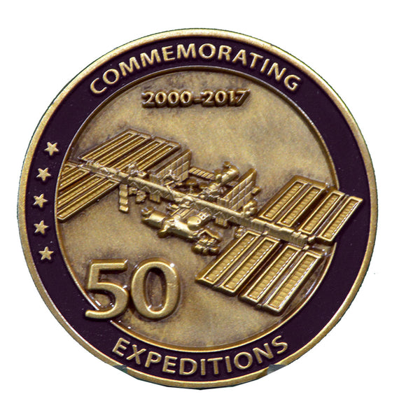 50 Expeditions Medallion