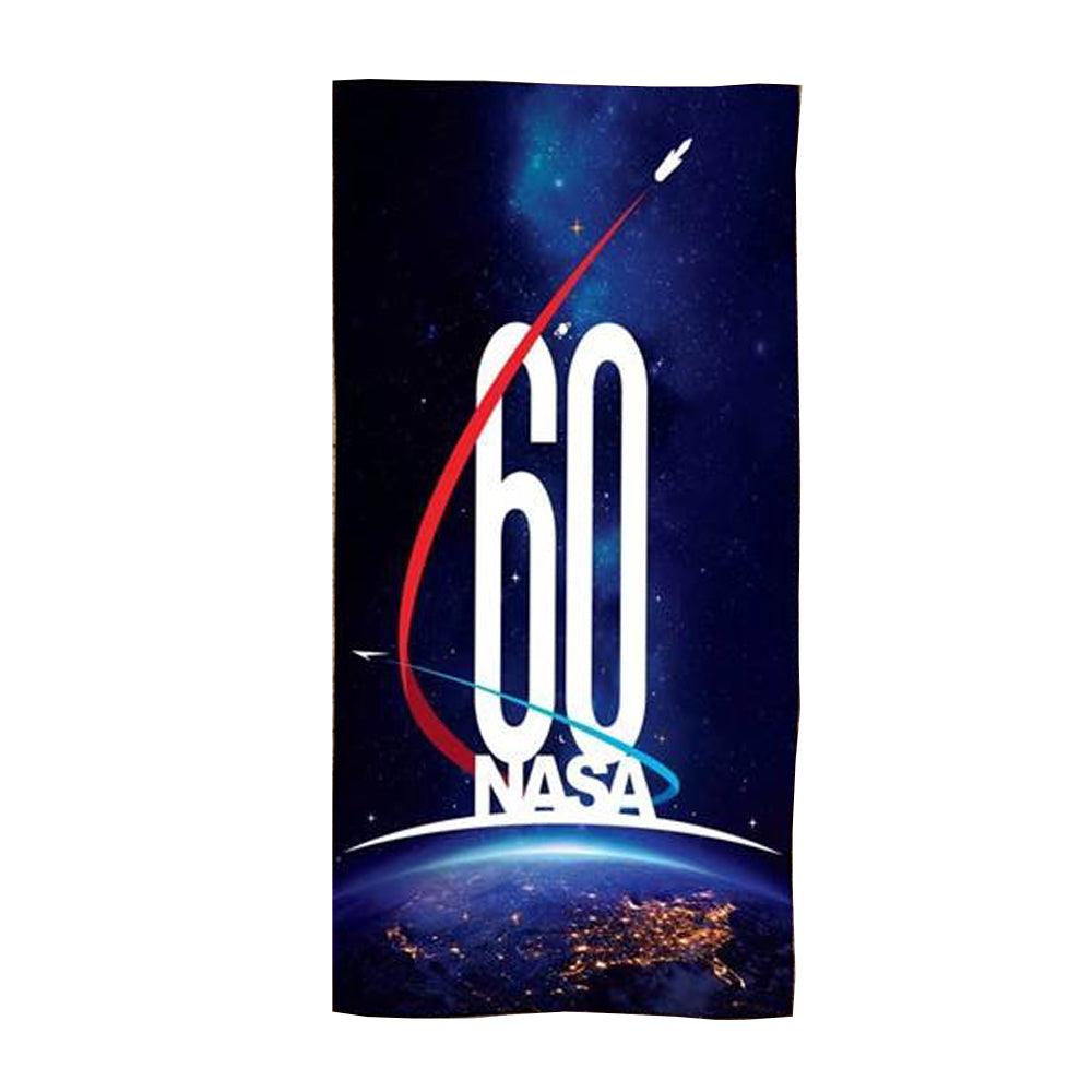 NASA 60th Anniversary Beach Towel
