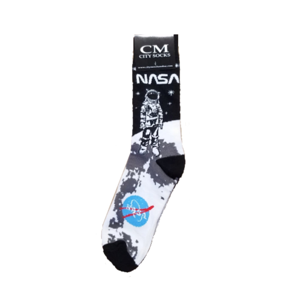 Astronaut Moon Socks