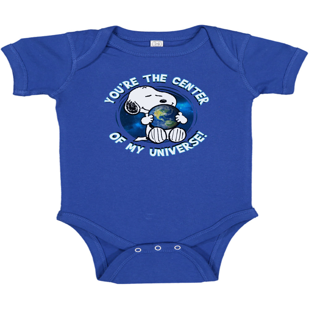 Snoopy Center of the Universe Onesie