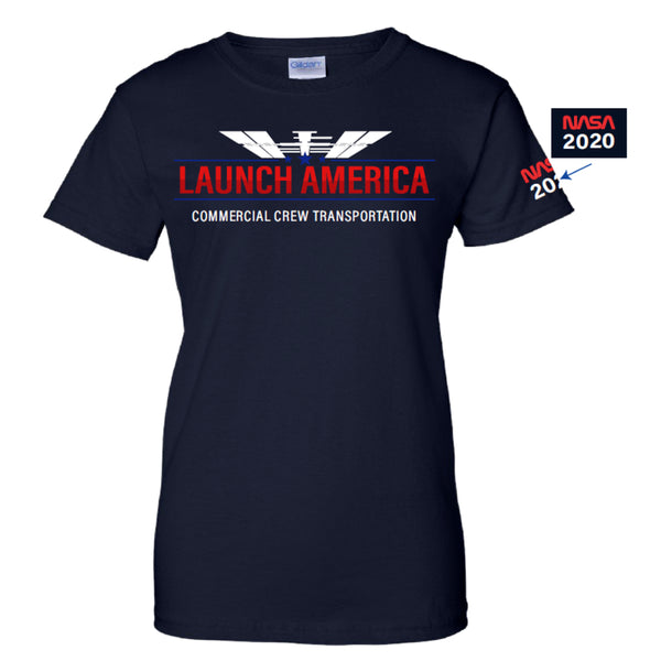 Ladies Launch America Tshirt