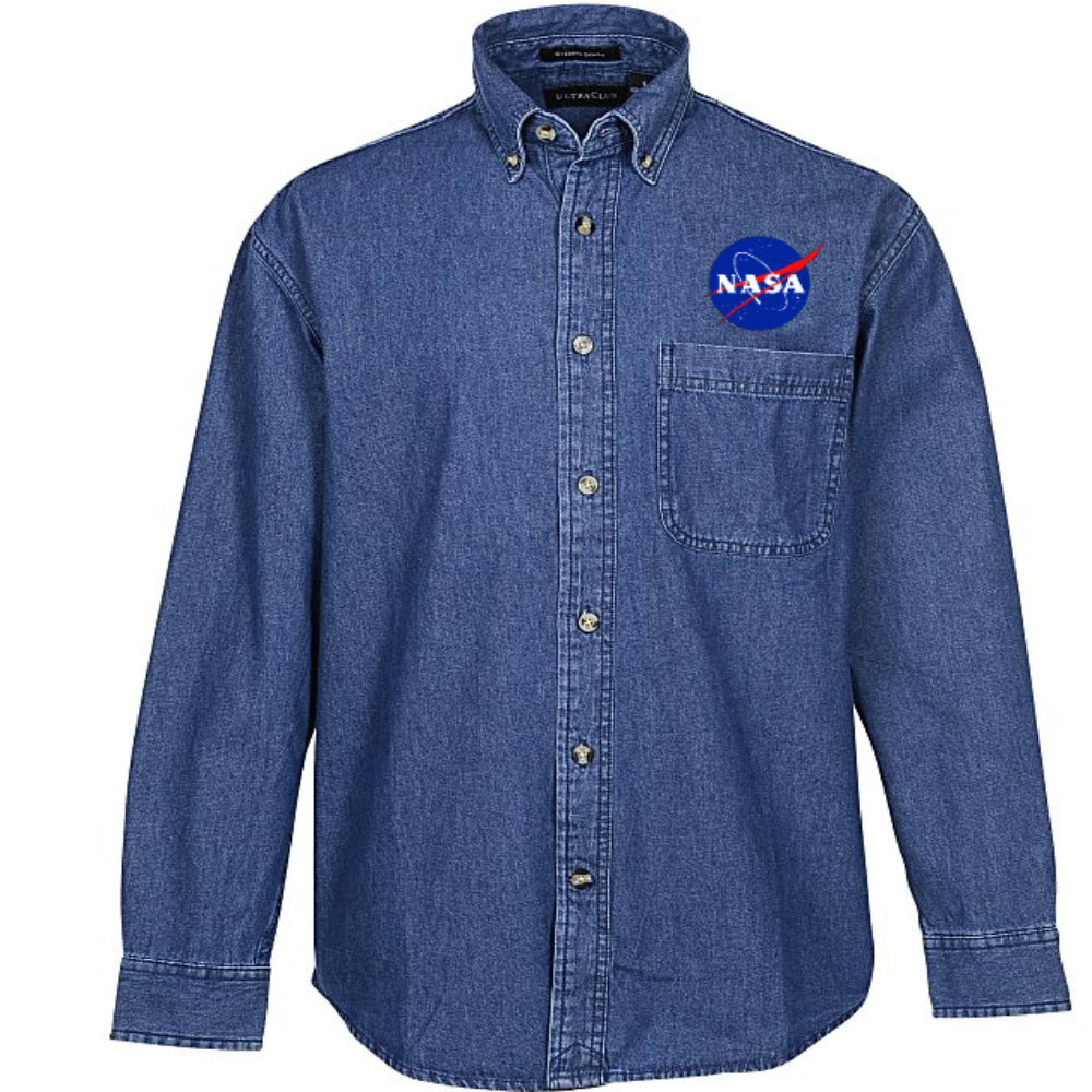 Men's NASA Denim Shirt