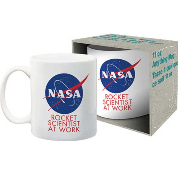 NASA Rocket Scientist Mug with Box