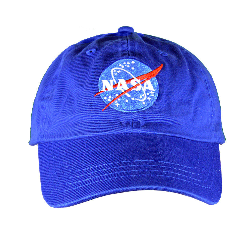 Royal Blue NASA Meatball Cap