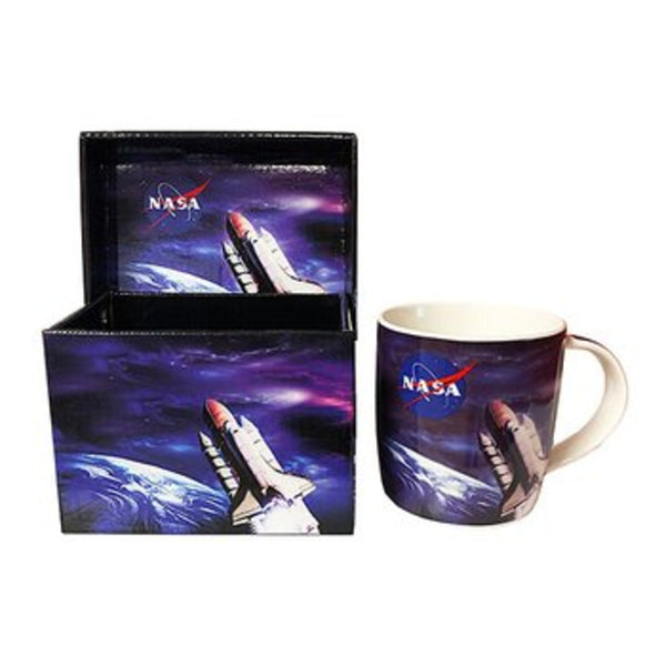 Shuttle Mug with Box