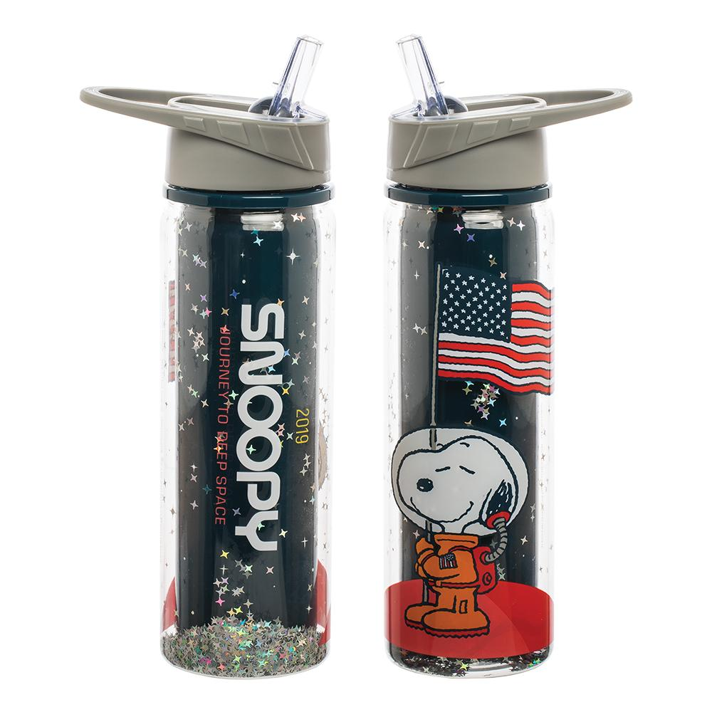 Astronaut Snoopy Water Bottle 18 oz.