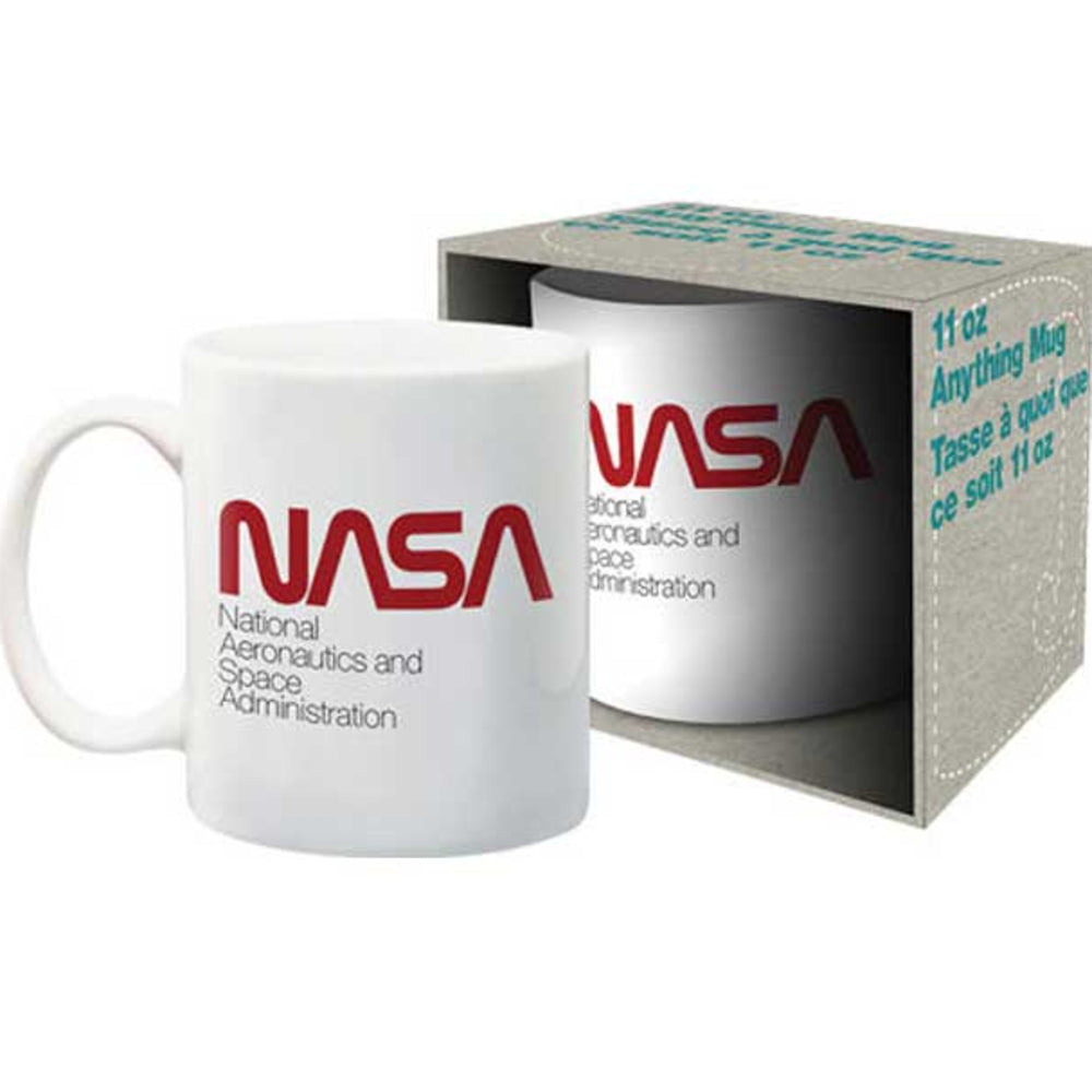 NASA Worm Mug with Box