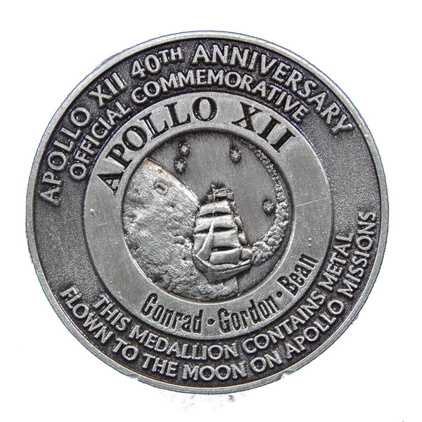 Apollo 12 Medallion