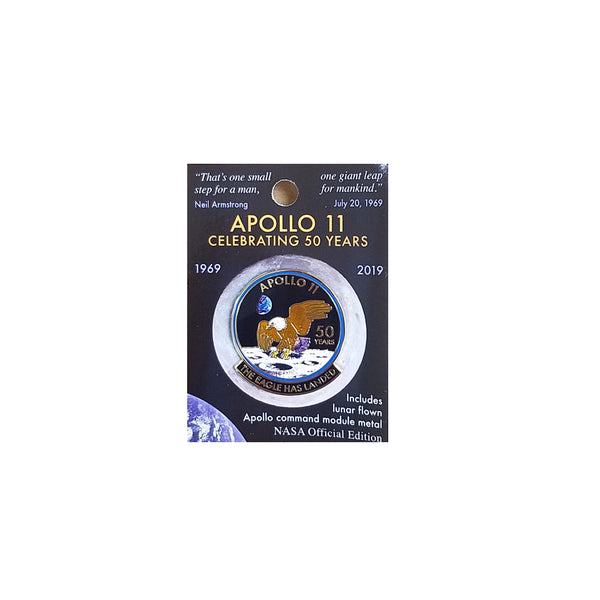 Apollo 11 50th Anniversary Lapel Pin