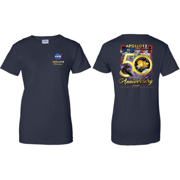 Apollo 13 50th Anniversary T-Shirt - Ladies' Cut