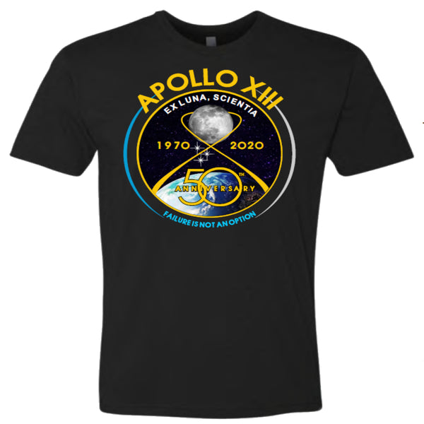 Apollo 13 50th Failure Not an Option T-Shirt