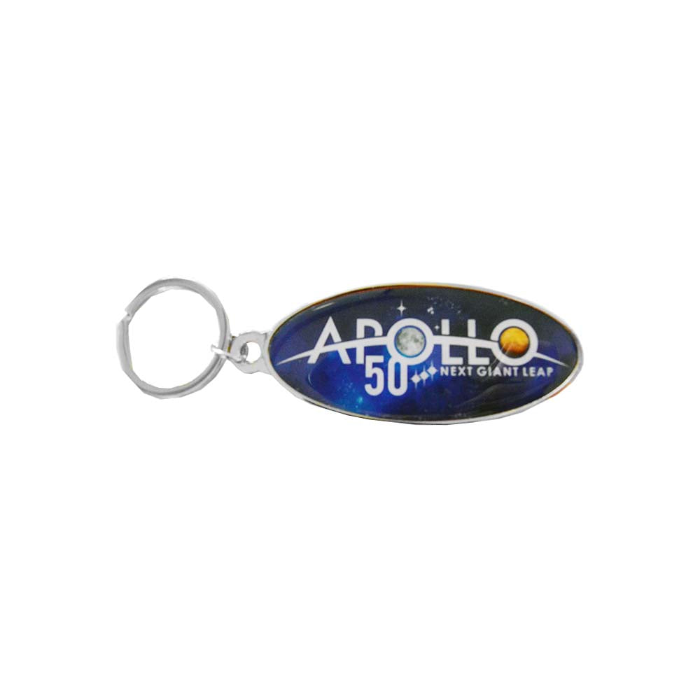 Apollo 50th Next Giant Leap Key Chain