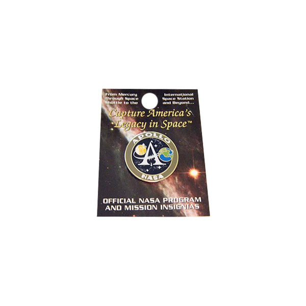 Apollo Program Pin