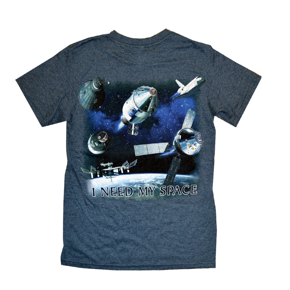I Need My Space Manned Flight T-Shirt