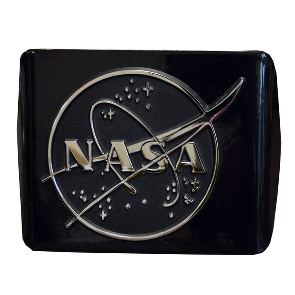 NASA Black Hitch Cover