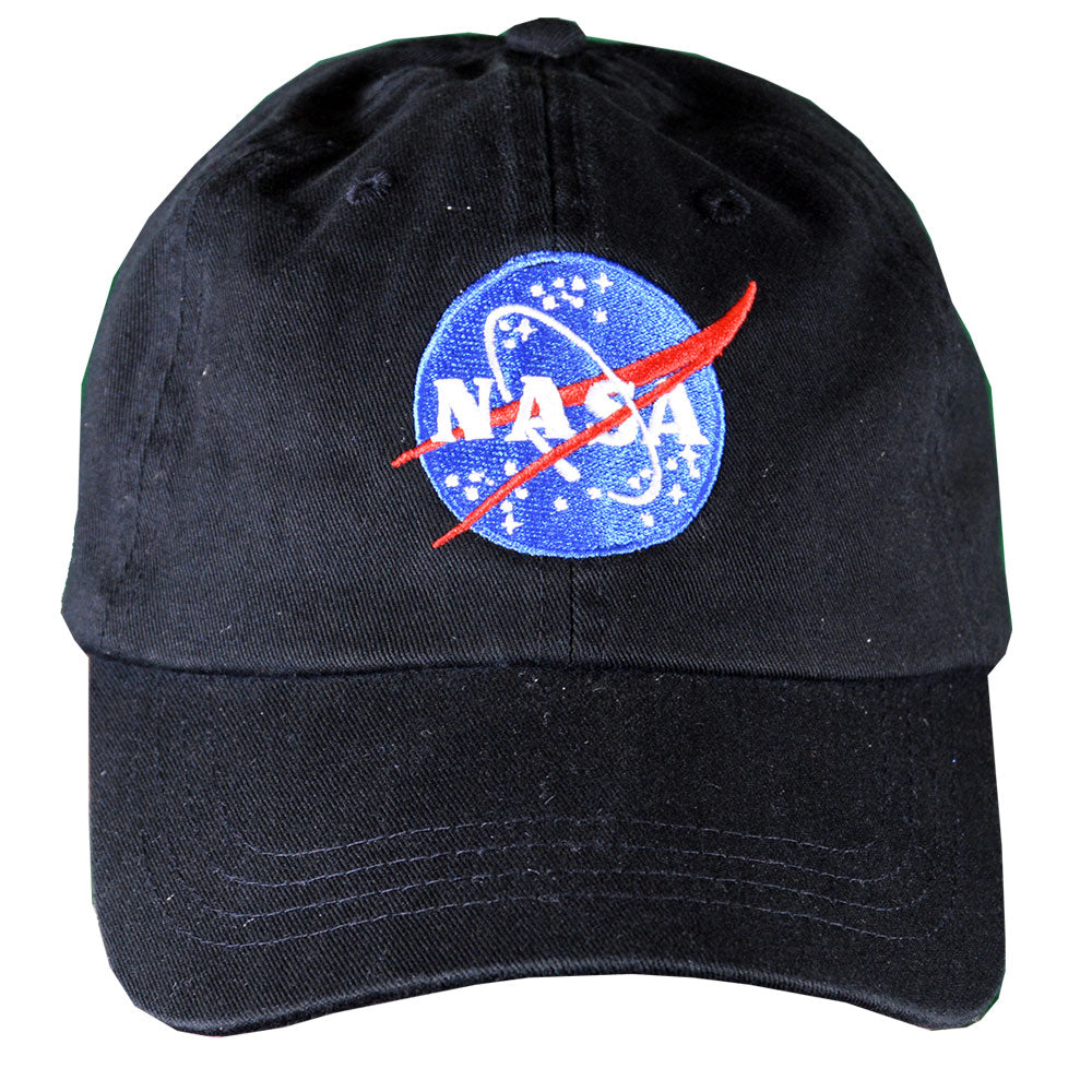 Black NASA Meatball Cap