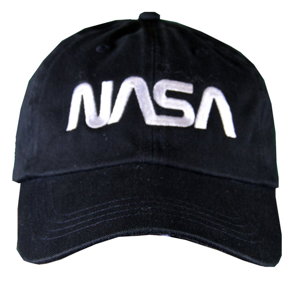 Black NASA Worm Cap