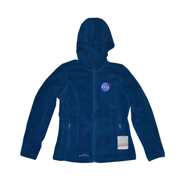 Ladies NASA Eddie Bauer Fleece Jacket with Hood