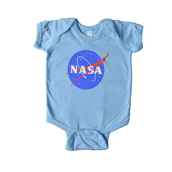 Blue Onesie With Nasa Meatball