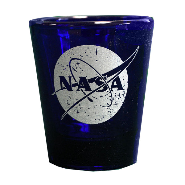 Blue Shot Glass