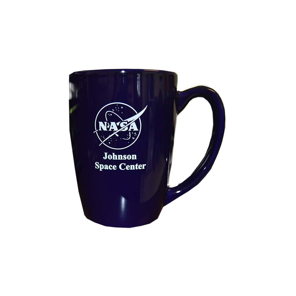 Blue Johnson Space Center Mug