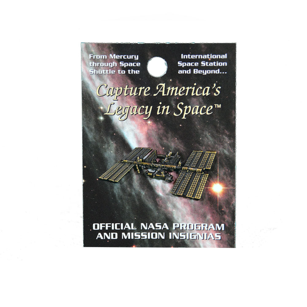 Bronze International Space Station Pin