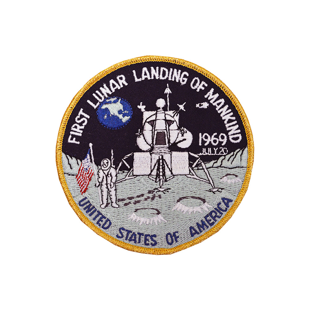First Lunar Landing Patch